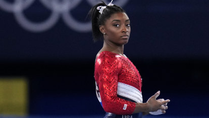 'Doing the beam for herself': Inside Biles' return to competition