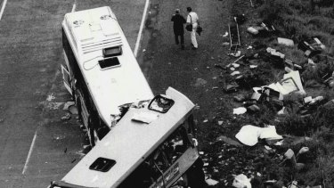 The Pacific Highway was the scene of two horrific bus crashes in 1989.