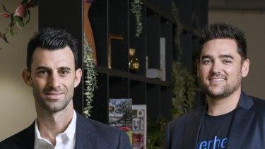 John Winters and Wayne Baskin launched Superhero in September last year.