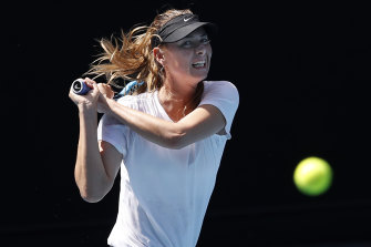 Five-time major winner Maria Sharapova retired this year.