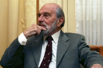 George Blake, in Moscow on November15, 2006, would receive several honours from Russian governments for his work as a double agent.