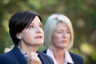 Labor leader Jodi McKay and deputy leader Yasmin Catley say Ms McKay's leadership is safe.