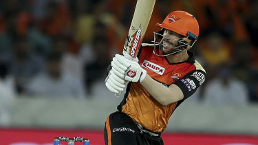 David Warner has been on fire for the Sunrisers in the IPL.