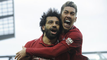 Liverpool manager Jurgen Klopp has praised Chelsea for their zero tolerance in response to the racial abuse of Mohamed Salah (left).