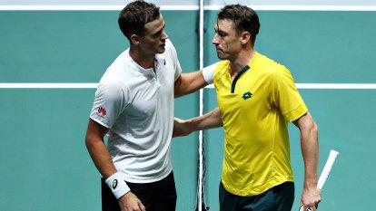 Millman left devastated after Davis Cup loss, as de Minaur shines