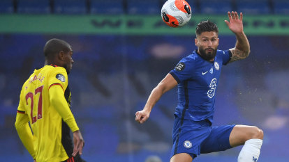 Giroud, Willian and Barkley fire Chelsea to victory over Watford