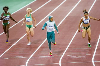 Cathy Freeman was a key player in behind-the-scenes talks.