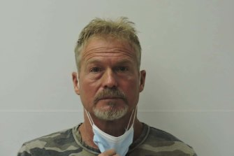 Barry Morphew, who was arrested in connection with the disappearance of his wife, Suzanne Morphew.