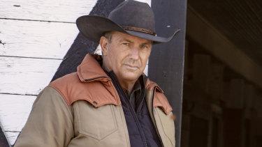 Kevin Costner in Yellowstone season 2.