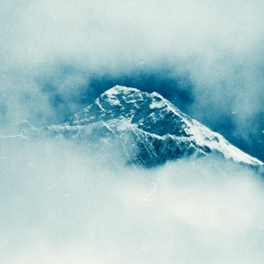 At 8848 metres, Mt Everest was first identified as the world's highest mountain in the mid-1800s.
