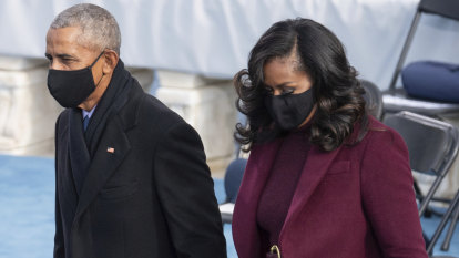 'Did not come to play': Michelle Obama's instantly iconic inauguration hair
