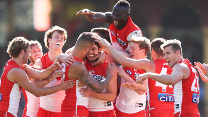 Franklin, McVeigh and Jack get their moments as Swans topple Saints