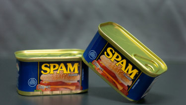 "Spam has many definitions, one being ""unwanted commercial email""."