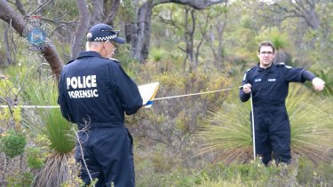 WA Police scour bushland near Yanchep for clues to the cold case disappearance of Radina Djukich.