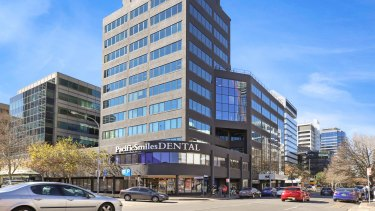 80 George Street in Parramatta is being sold and is expected to attract significant attention from investors.
