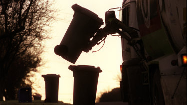 Councils want more of the money the government collects from a waste levy used to fund recycling.