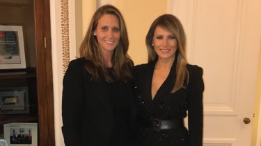 Stephanie Winston Wolkoff first met Melania Trump in 2003 while she was special event director at Vogue magazine.