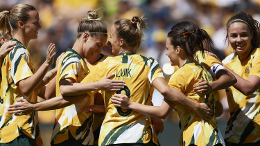 The Matildas could be playing a World Cup on home soil in 2023.