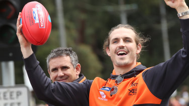 Phil Davis says the Giants are vital to the growth of the AFL.