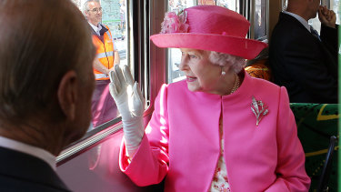 Australia's head of state, Queen Elizabeth II.