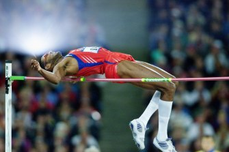 High-jumper Javier Sotomayor, who had just made his comeback following a year-long suspension for cocaine use.