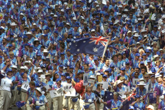 Sydney salutes its volunteer army after a phenomenally successful Sydney Olympics.
