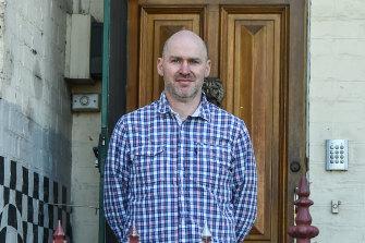 Fitzroy Community School principal Tim Berryman on Monday.