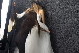 Vera Wang has partnered with Pronovias Group to launch her affordable bridal brand Vera Wang Bride.
