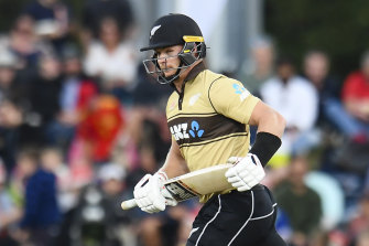 Glenn Phillips was the star with the bat for New Zealand in the second T20 against Bangladesh.