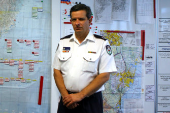 Rob Rogers, as an RFS Assistant Commissioner in 2006, when he had been expected to replace Koperberg as the agency's chief.