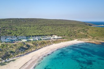 An existing development at Smiths Beach next to bushland which could be partially cleared for a new project.
