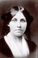 An undated photo of Louisa May Alcott, author of Little Women.