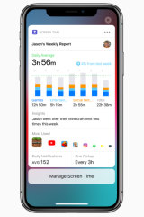 Screen Time lets you monitor your app usage and set limits.