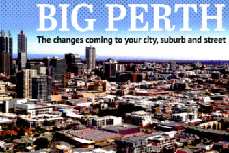 About 1.4 million people are expected to make Perth home over the next 30 years.