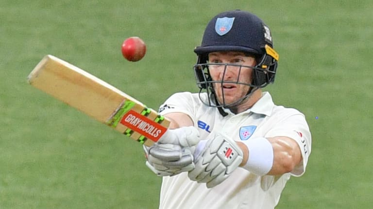 Captains knock: Peter Nevill unselfishly declared on day four.