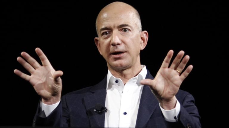 Jeff Bezos had over $12b wiped off his net worth as Amazon shed 5 per cent on Wednesday.