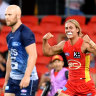 New recruits shine as Suns claim pre-season win over Cats