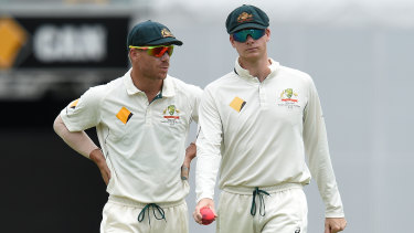 David Warner and  Steve Smith.