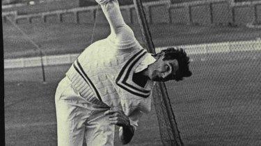 David Renneberg in the nets in 1968.