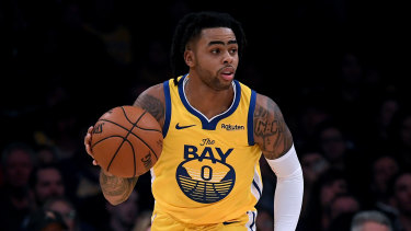 D'Angelo Russell has joined Golden State's extensive injury list.