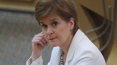 Scottish First Minister Nicola Sturgeon, says some of Tony Abbott's views won't help the UK on the world stage.