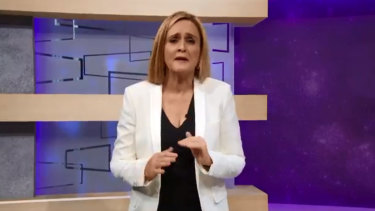 Samantha Bee hit back at her critics on her show on Thursday.