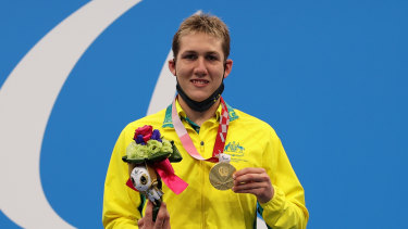 Will Martin won a gold medal in the S9 400m freestyle final.