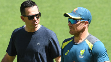 Words of wisdom: Former Australian captain Ricky Ponting looms as an ideal candidate for the T20 selection role.