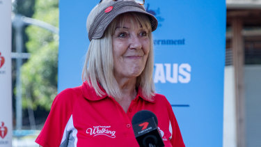 Sharon Lovelock.