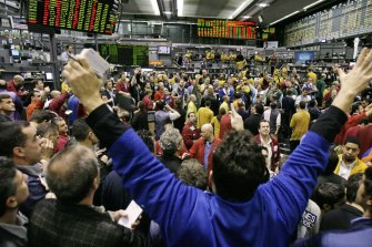 Bitcoin futures and options are traded on the Chicago Mercantile Exchange.