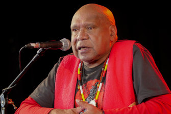 Archie Roach brought crowds to tears at Woodford Folk Festival this year.