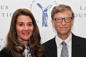 Melinda and Bill Gates have been married for 27 years.