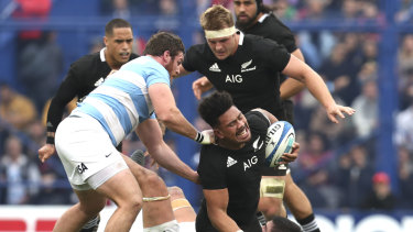All Blacks' form player: Ardie Savea may switch to No.8 to give New Zealand a very different looking loose forwards unit.