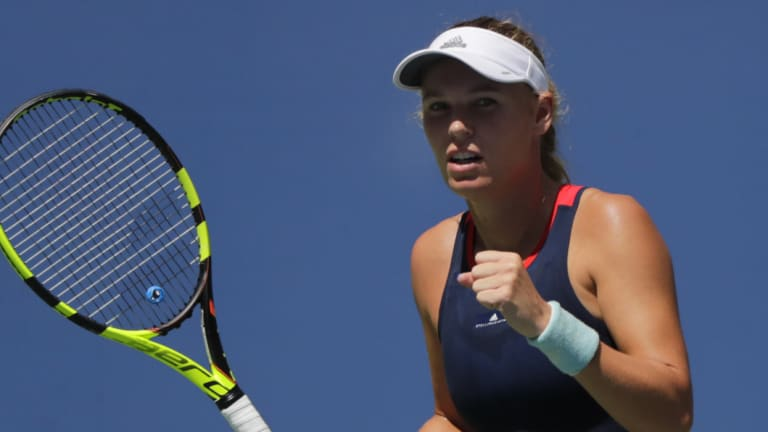 Back again: Defending champion Caroline Wozniacki has earned a chance to retain her title.
